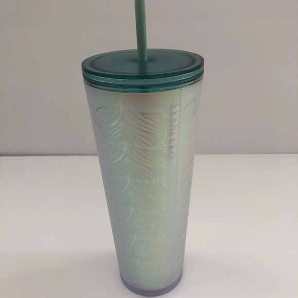 Starbucks Mermaid Tail Matte Soft Touch Tumbler